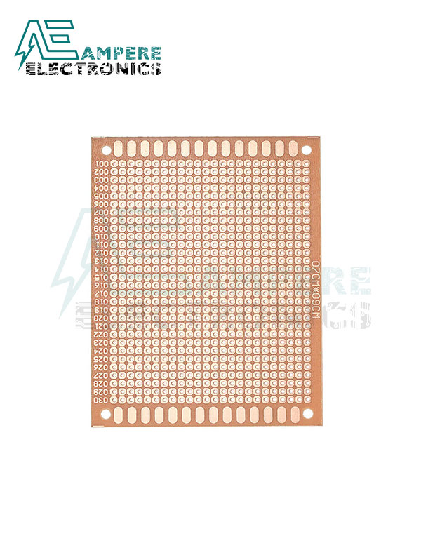 PCB Bread Board Shape FR2 (7X9 cm2)