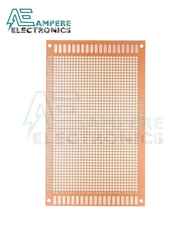PCB Bread Board Shape FR2 (9X15 cm2)