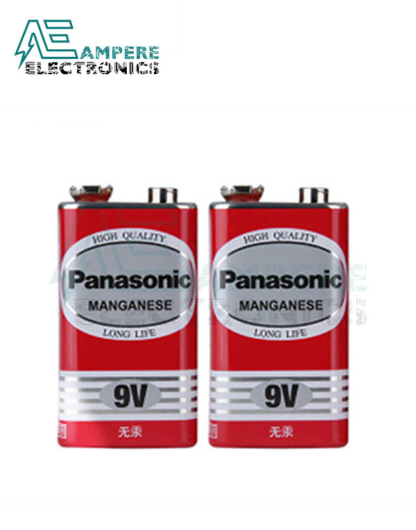9V Battery , Panasonic Long Life