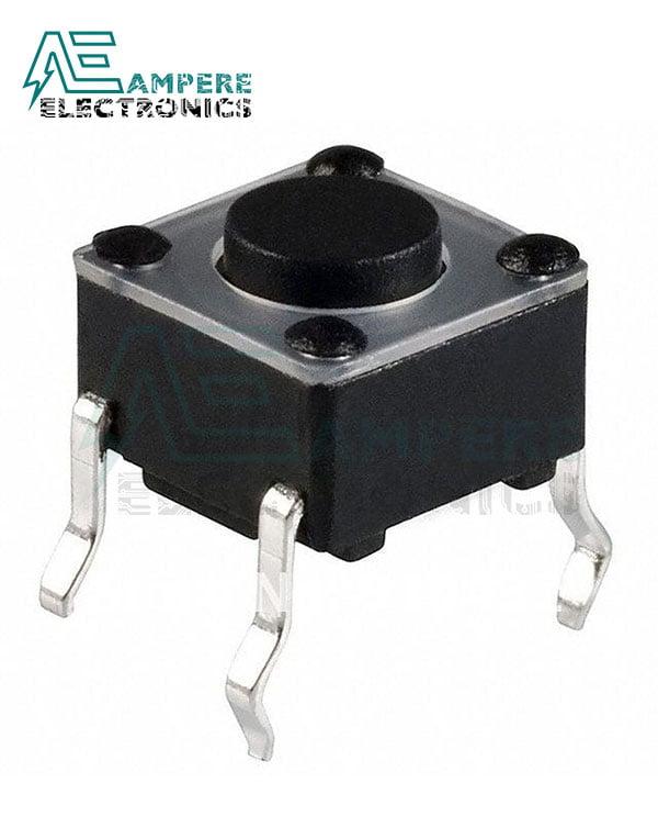 Press 4pin 12x12x4 mm Tack Switch Standard Stem