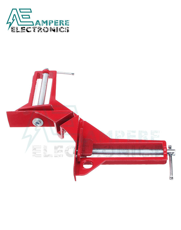 90 Degree Right Angle Clamp | Red