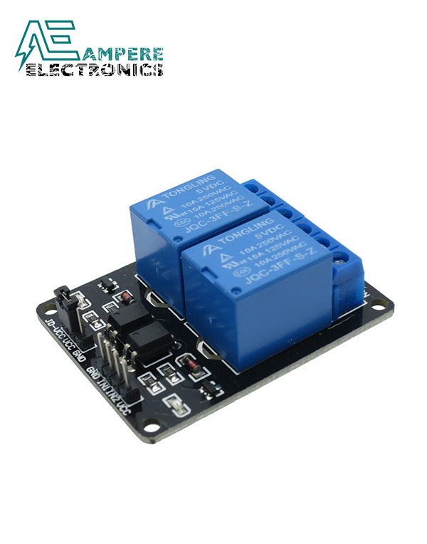 Relay Module 2 Channel (5Vdc)
