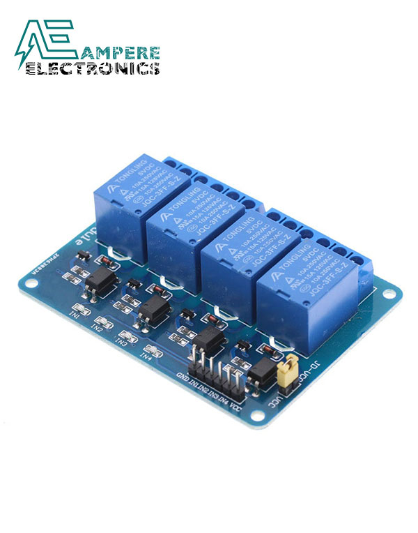 Relay Module 4 Channel (12Vdc)