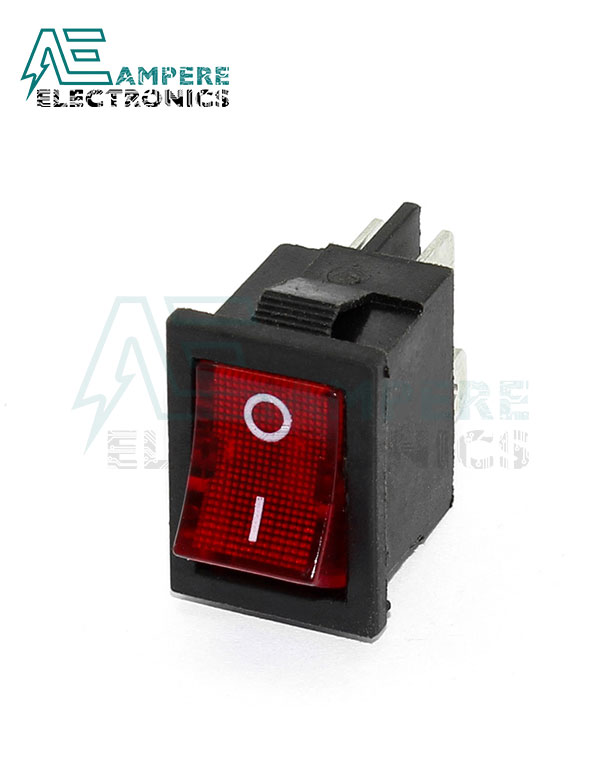 Rocker Switch ON-OFF with 220VAc LED Indicator