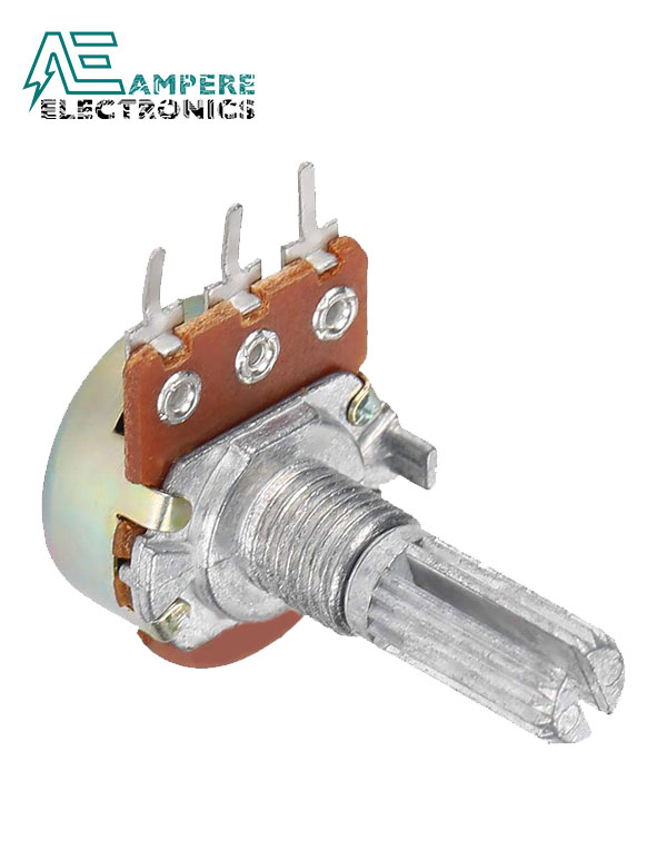 100Kohm Linear Taper Rotary Potentiometer