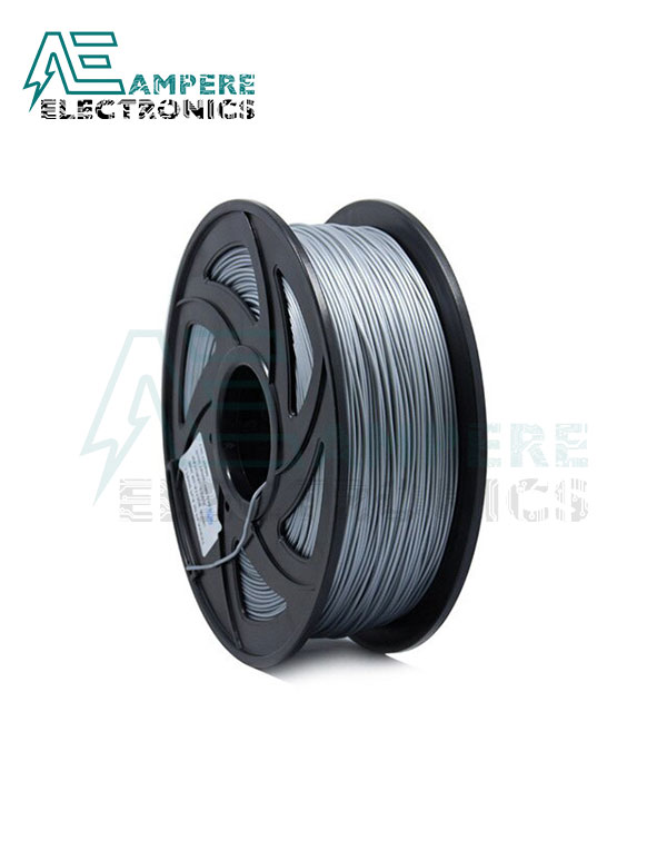 Silver Color PLA Filament 1.75mm – 1kg/Roll