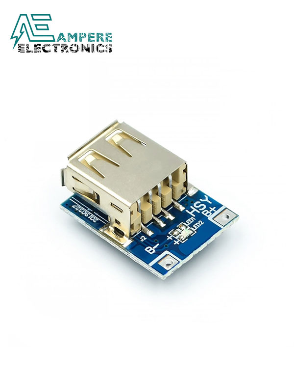 Single USB 5V 1A Mobile Power Bank Module