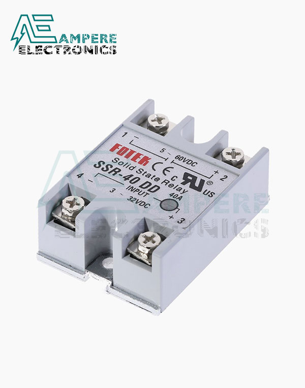 Solid State Relay SSR-40DD (3-32Vdc / 5-60Vdc)