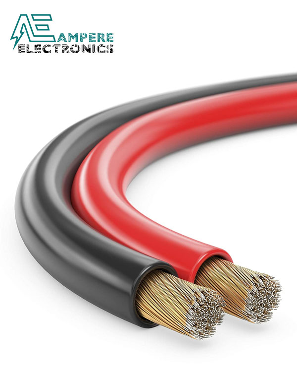 Red/Black Audio Speaker Wire Cable – 1M