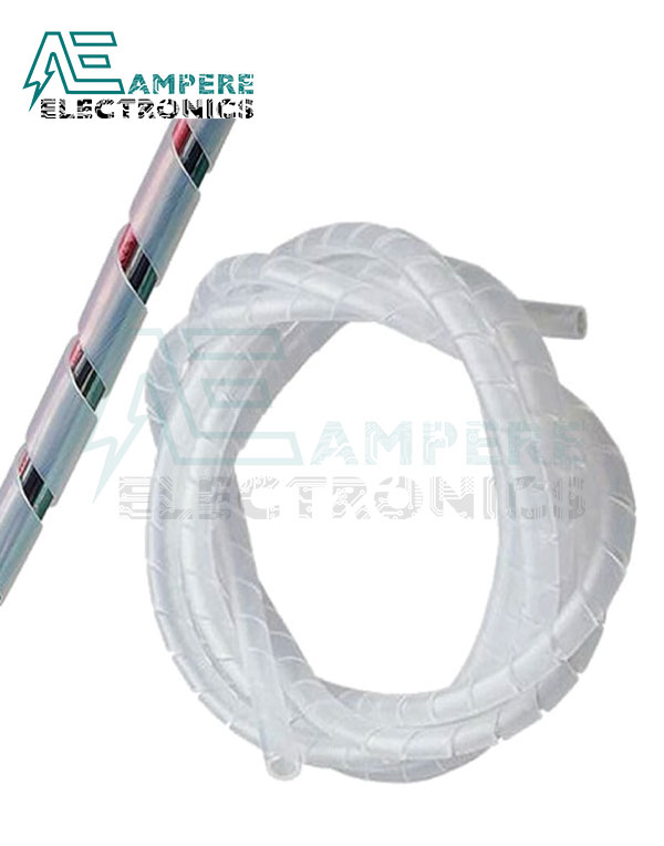 Cable Spiral Wrapping Inner Dia. 12,mm 10 Meters Roll