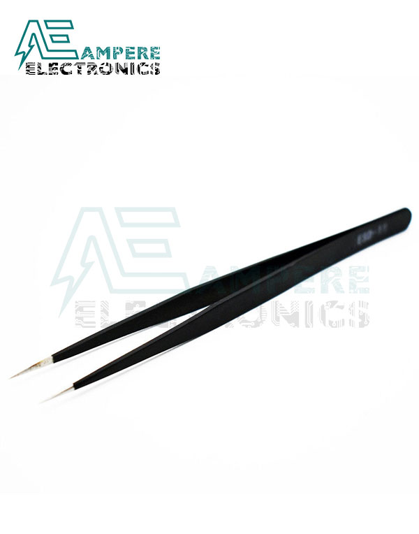 Stainless Steel Anti-Static Tweezers Straight