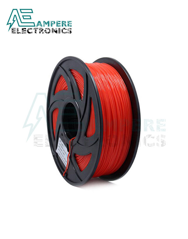 Transparent Red Color PLA Filament 1.75mm – 1kg/Roll