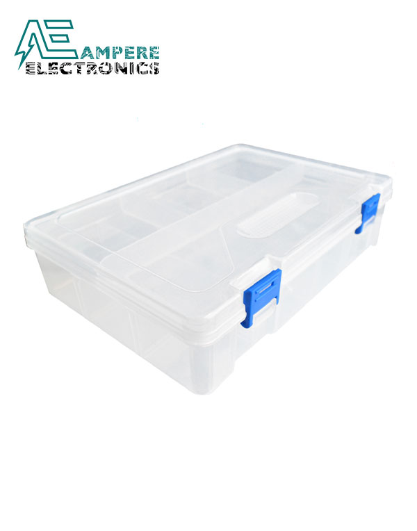 Two Layer Storage Box (23.4*16.8*6.2cm)
