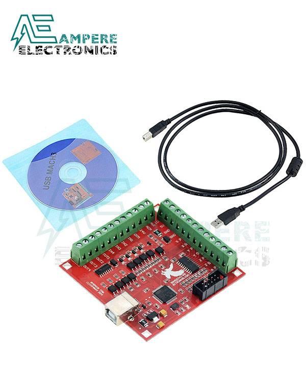 USB MACH3 100KHZ Breakout board 4 axis