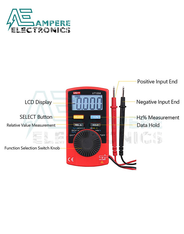 UT120B Pocket Size Digital Multimeter | UNI-T