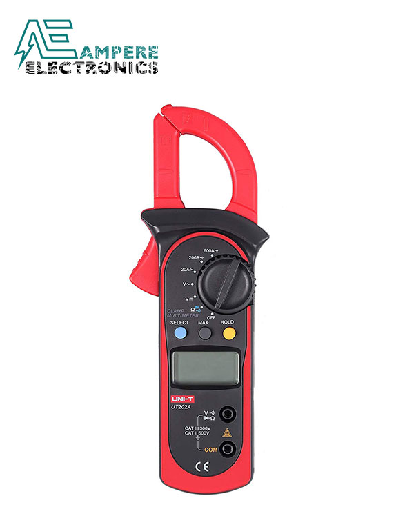 UT202A Digital Clamp Meter 400-600A | UNI-T