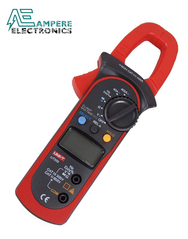 UT203 Digital Clamp Meter 400-600A | UNI-T