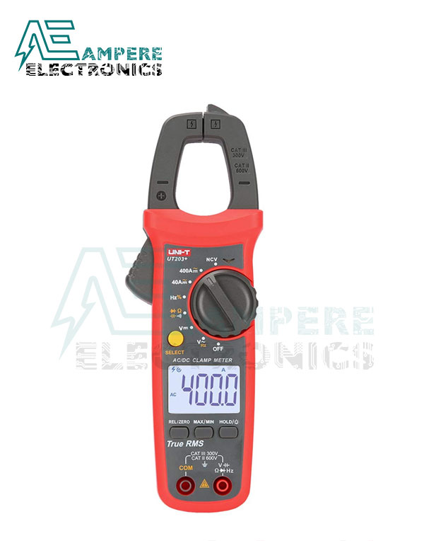 UT203+ Digital Clamp Meter 400-600A | UNI-T