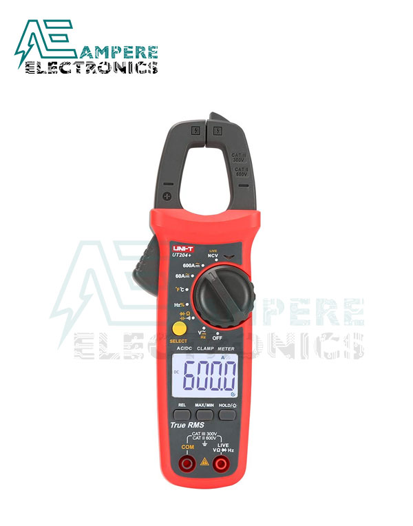 UT204+ Digital Clamp Meter 400-600A | UNI-T