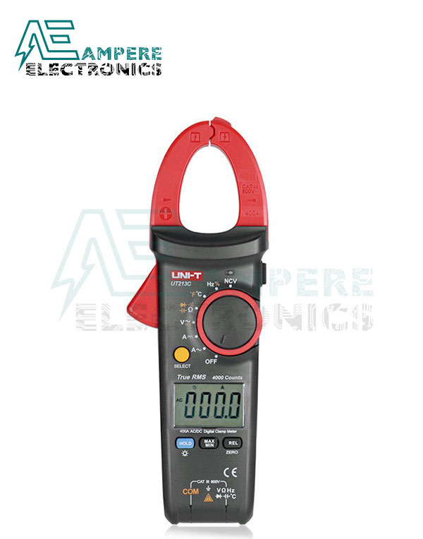 UT213C Digital Clamp Meter, 400 A | UNI-T