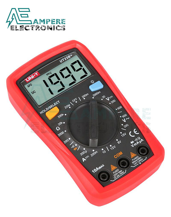UT33D+ Palm-Size Digital Multimeters | UNI-T