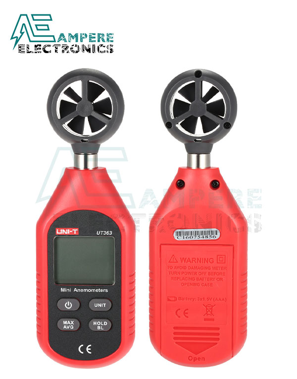 UT363 Mini Digital Anemometer Wind Speed Measuring | UNI-T