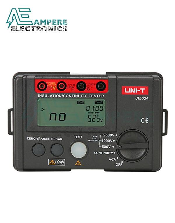 UT502A Insulation Resistance Meter | UNI-T
