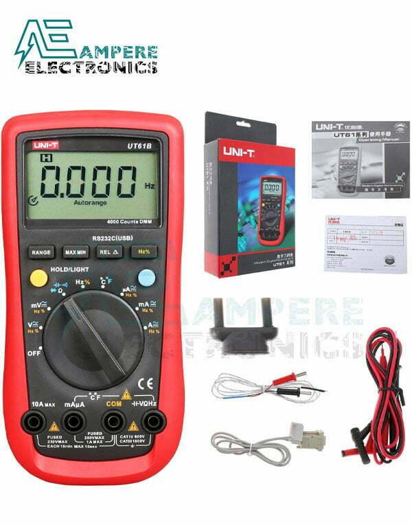 UT61B Modern Digital Multimeter | UNI-T