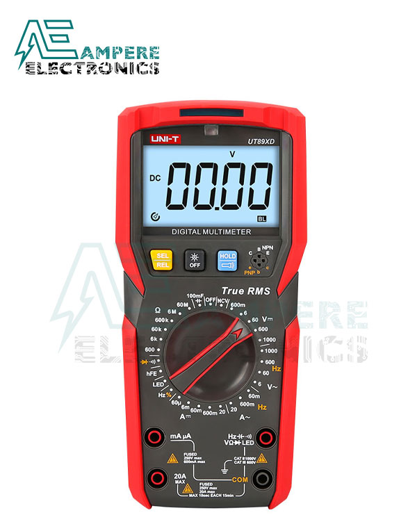 UT89XD Digital Multimeter | UNI-T