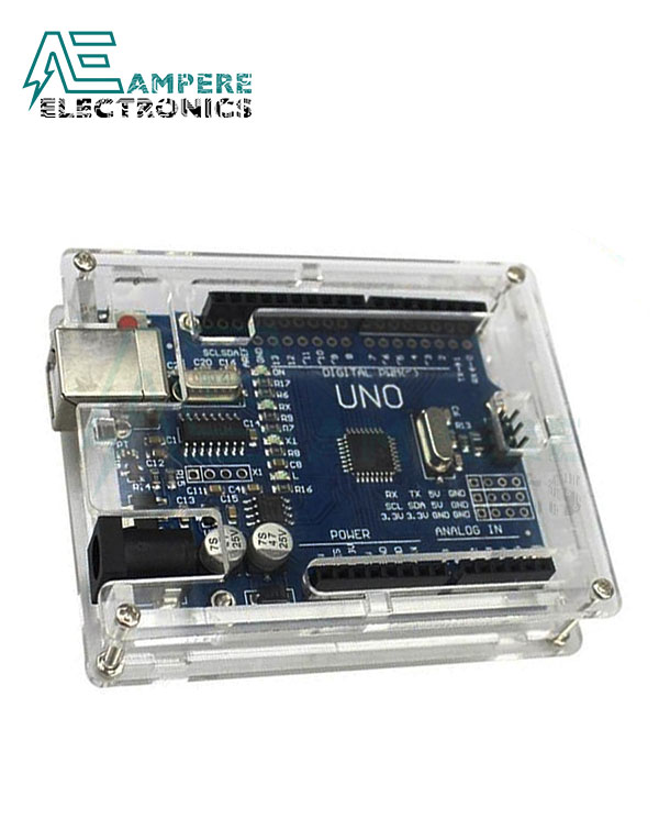 Acrylic Enclosure for Arduino UNO