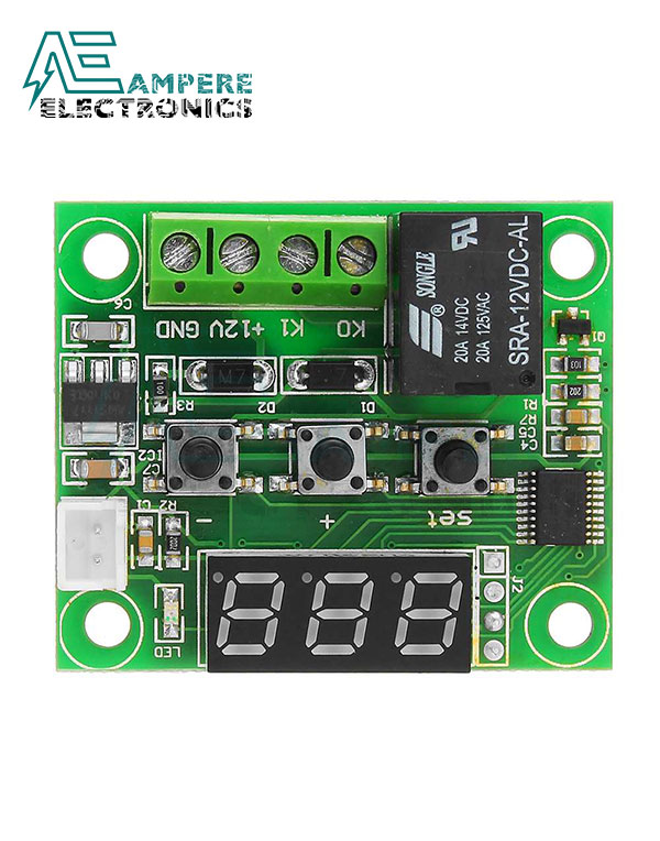 W1209 12V DC Digital Temperature Controller Board