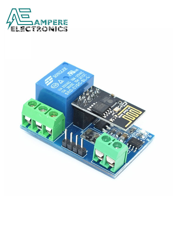 WiFi ESP8266 (ESP-01) Relay Module (5V)
