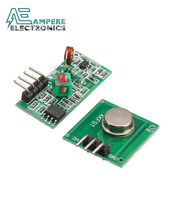 Wireless RF Kit 433 Mhz (Transmitter+Receiver)