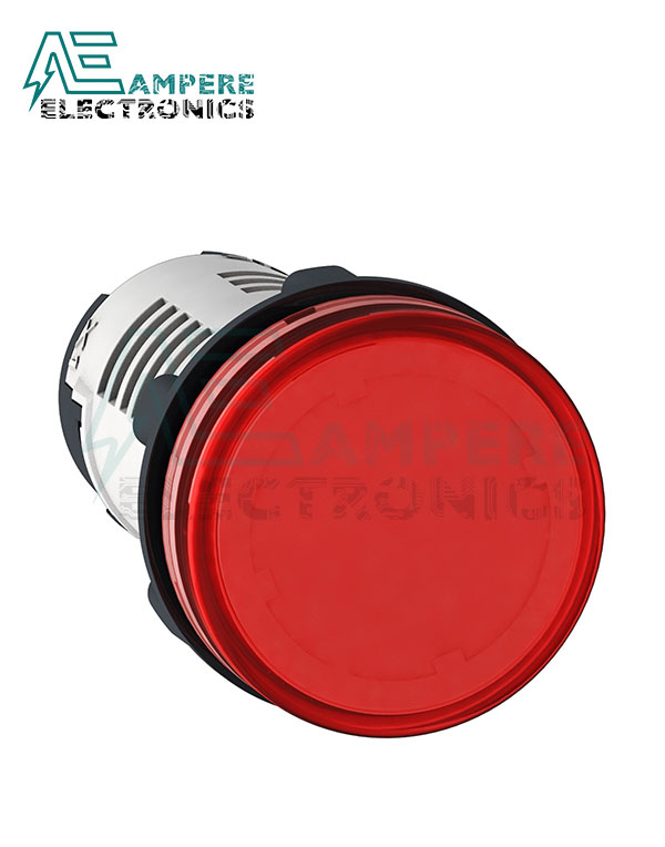 XB7EV04MP – Red LED Indicator Light, 230 Vac, Schneider Electric