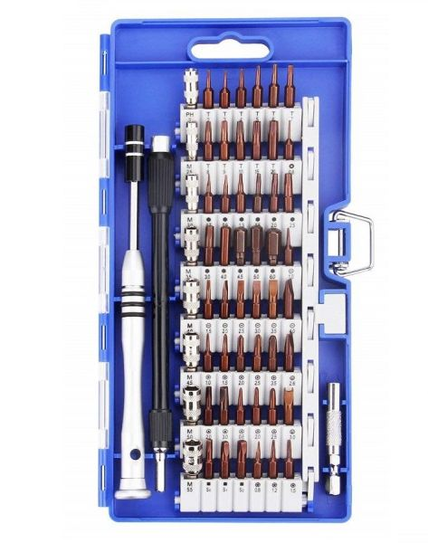 60-in-1 Screwdriver Bit Set Precision Screwdriver Kit