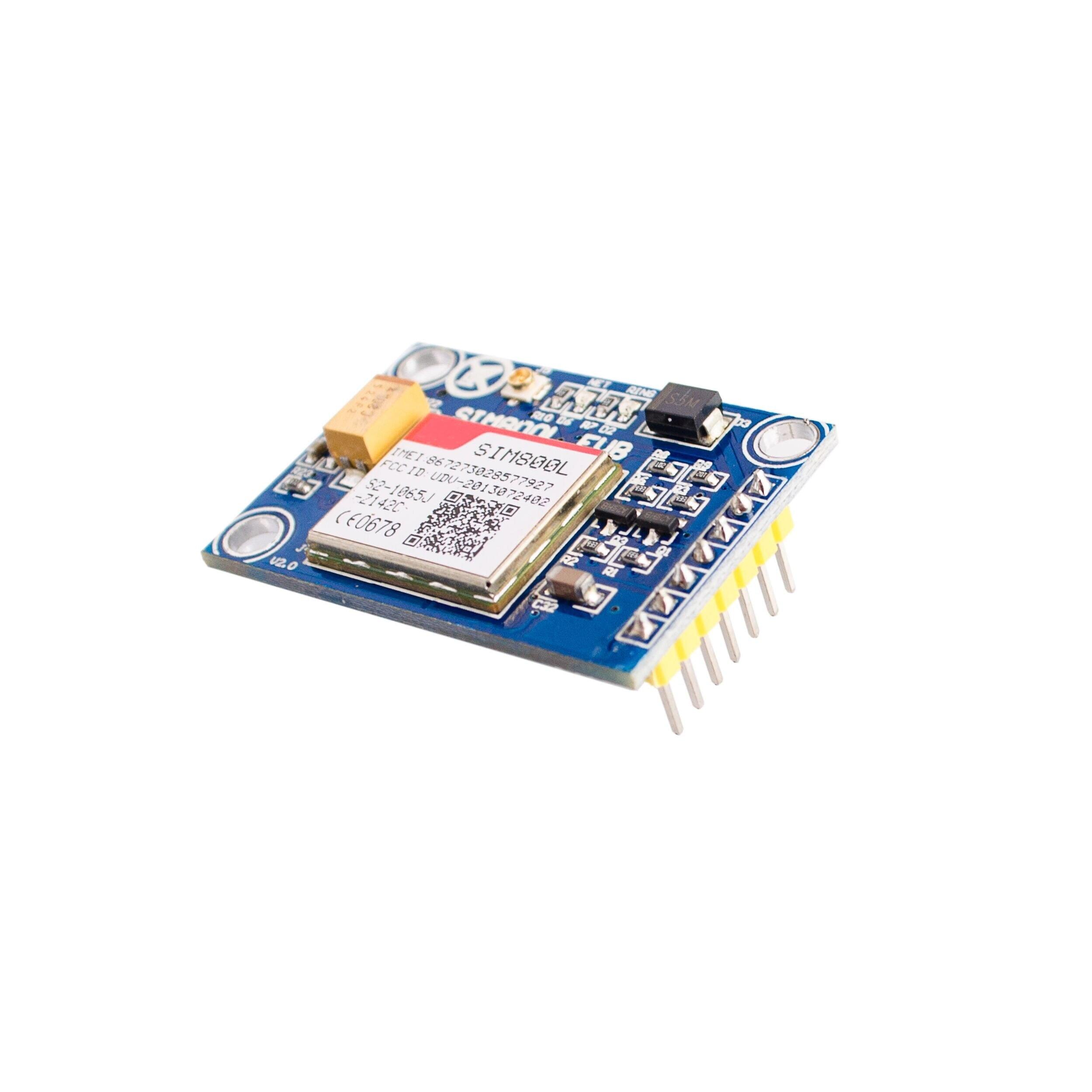 SIM800L V2.0 5V Wireless GSM GPRS Module Quad-Band W/Antenna