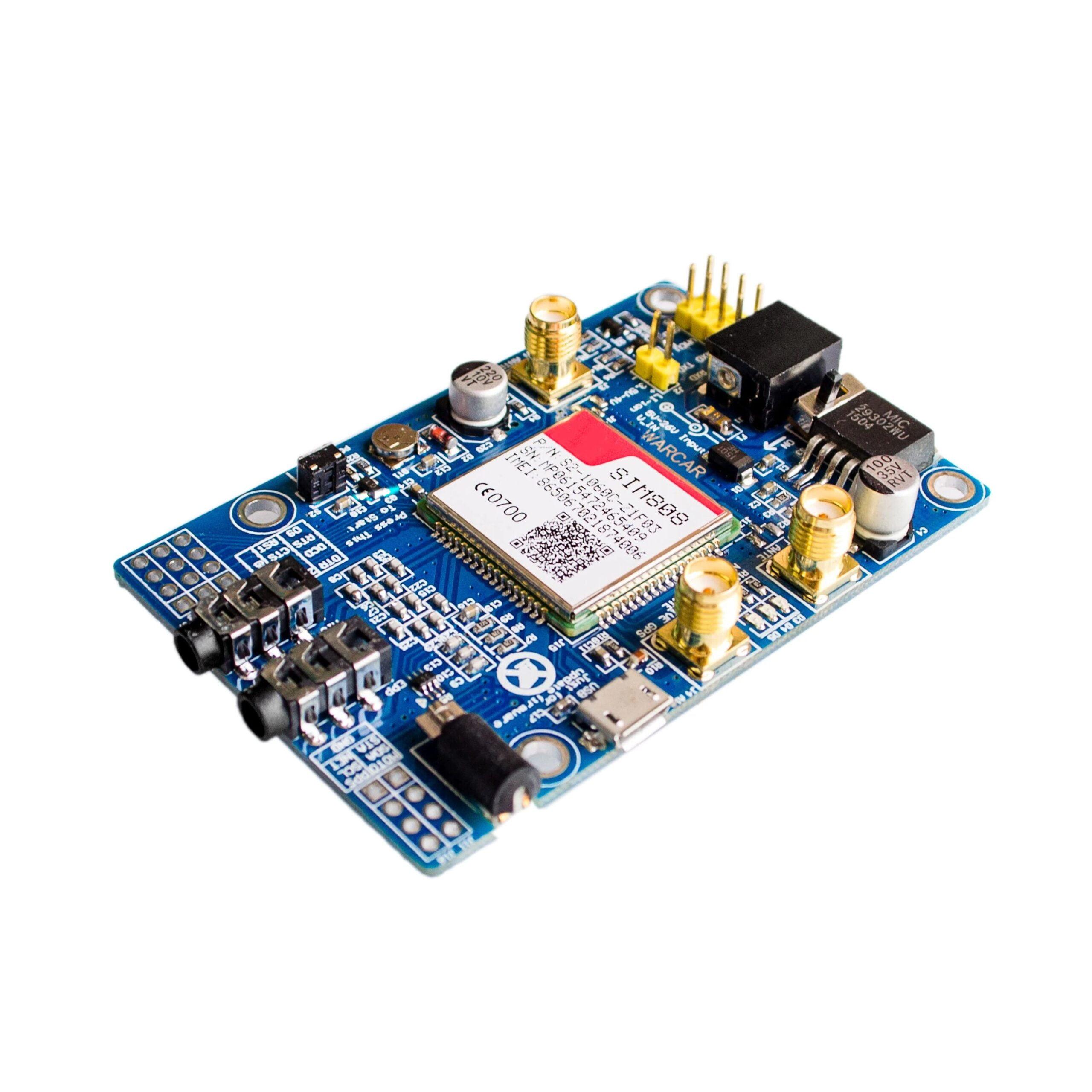 SIM808 Module GSM GPRS GPS Development Board SMA With GPS Antenna