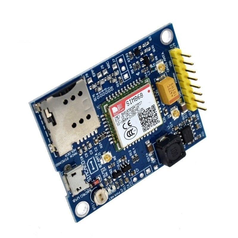 SIM868 Module (GSM,GPRS,GPS)