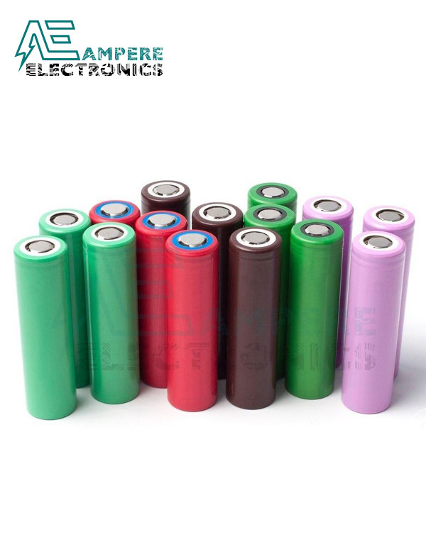 18650 Rechargeable Li-ion Battery 3.7v High Capacity – Recycled