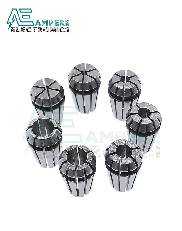 ER11 Collet Set 7Pcs from1mm to 7mm
