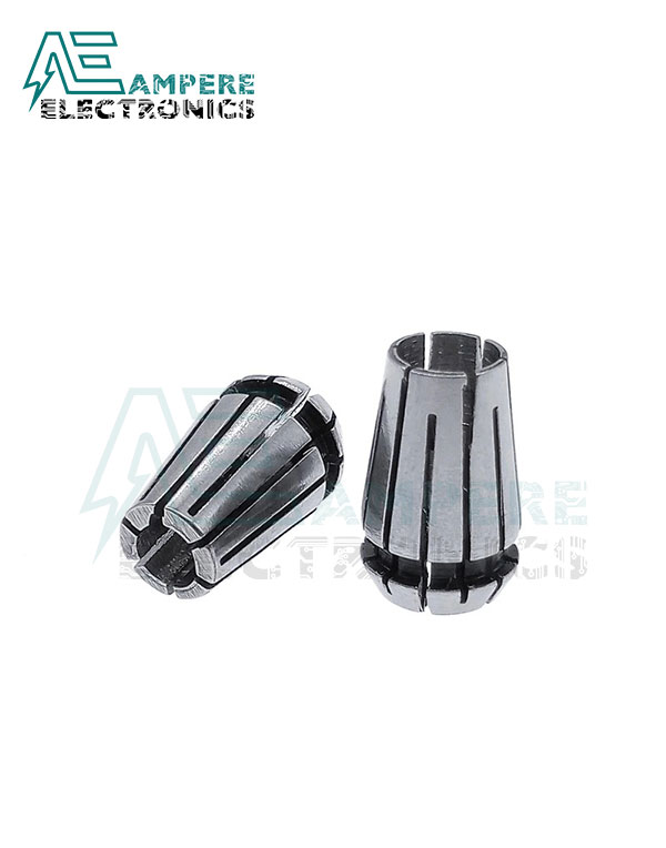ER11 Collet Set 7Pcs from 1mm to 7mm With Chuck