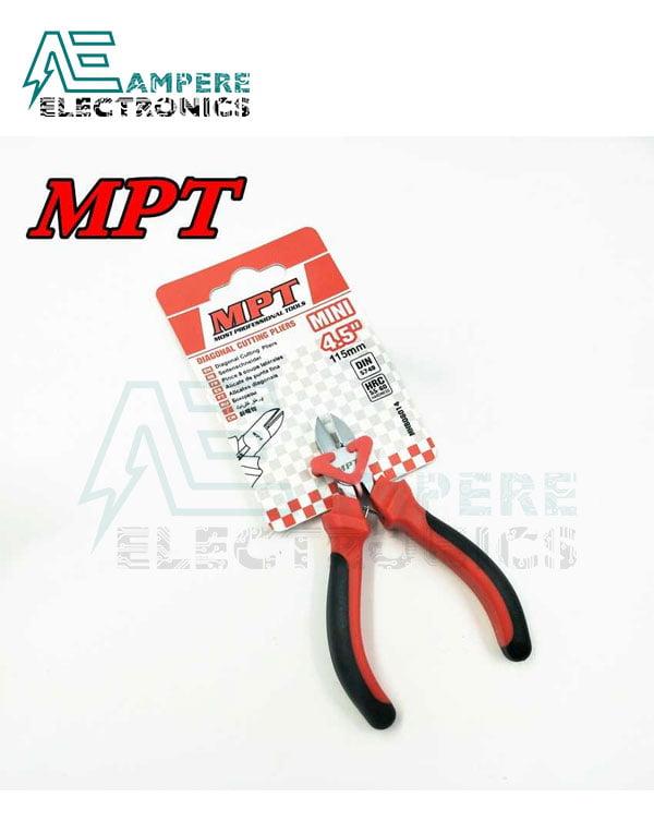 """MPT - 4.5"""" Mini Diagonal Cutting Pliers MHB08014"""