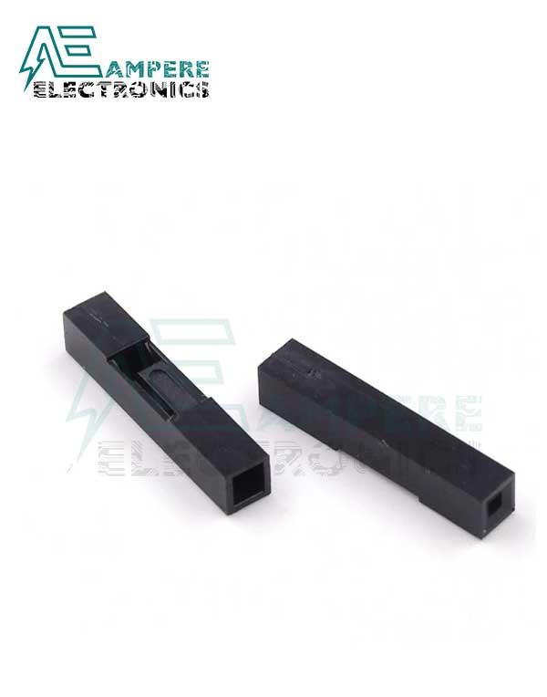 1P Dupont Plastic Terminal Housing Single Row 2.54mm – 1pin