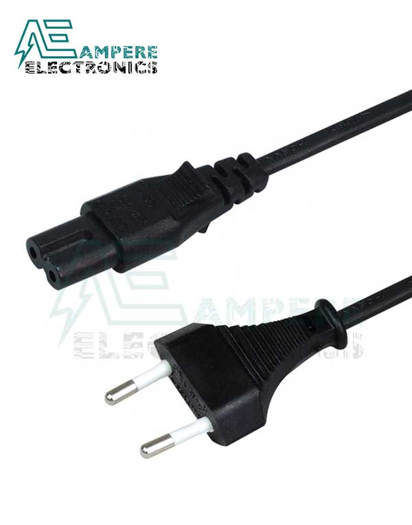 AC Power Cord with IEC-C7 Connector