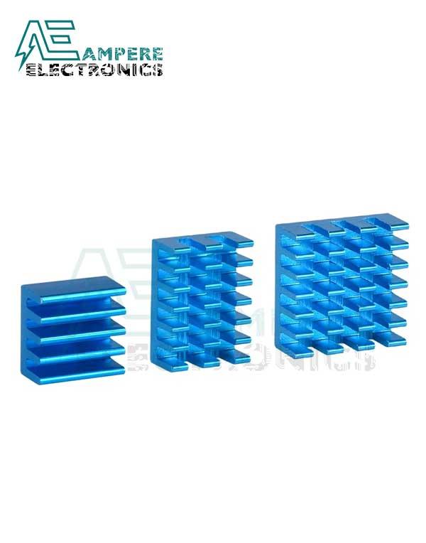 Raspberry Pi4 Aluminum Heatsink Kit (3PCS)