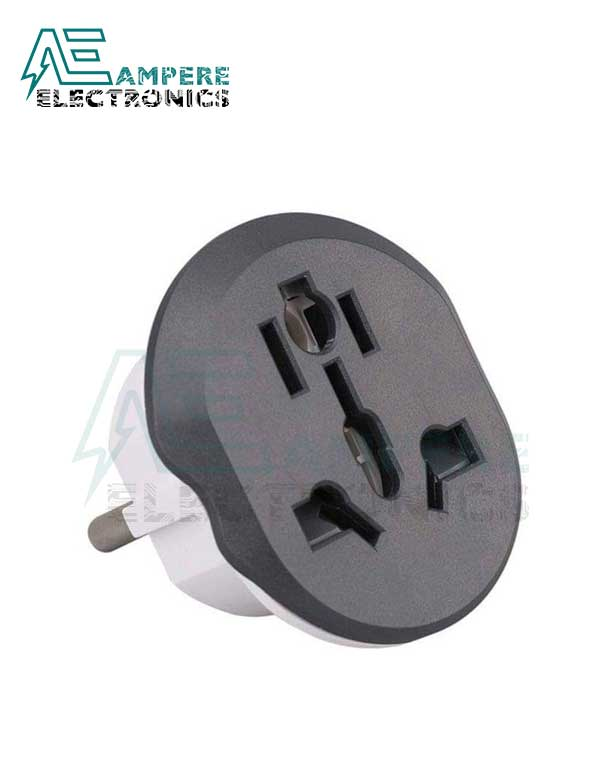 Universal EU Travel Adapter Plug 16A-250Vac