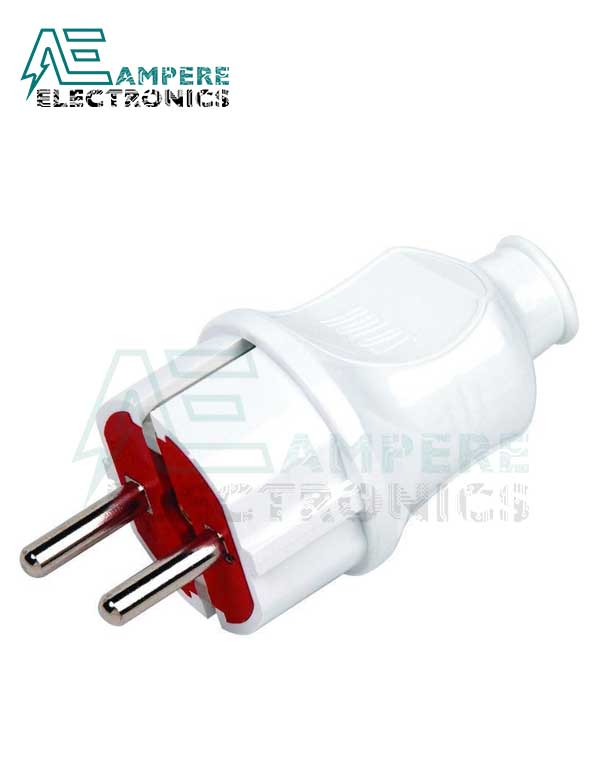2pin Male Electrical Plug Connector 16A – 220V