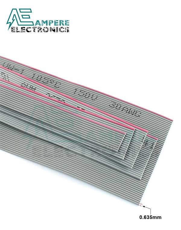 IDC Grey Color Flat Ribbon Cable 50Pin – 1 Meter