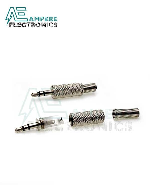 Metal Male Stereo Audio Plug (3.5mm)