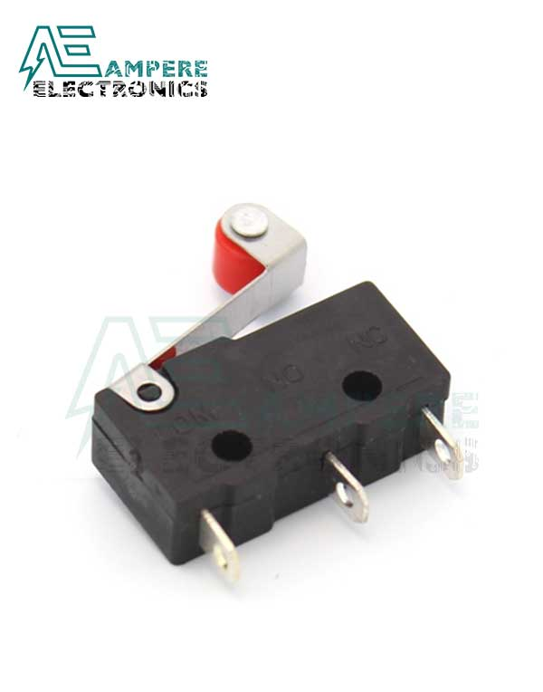 Limit Switch With Roller Wheel (MS.2 – 20.0×10.0x6.0mm)